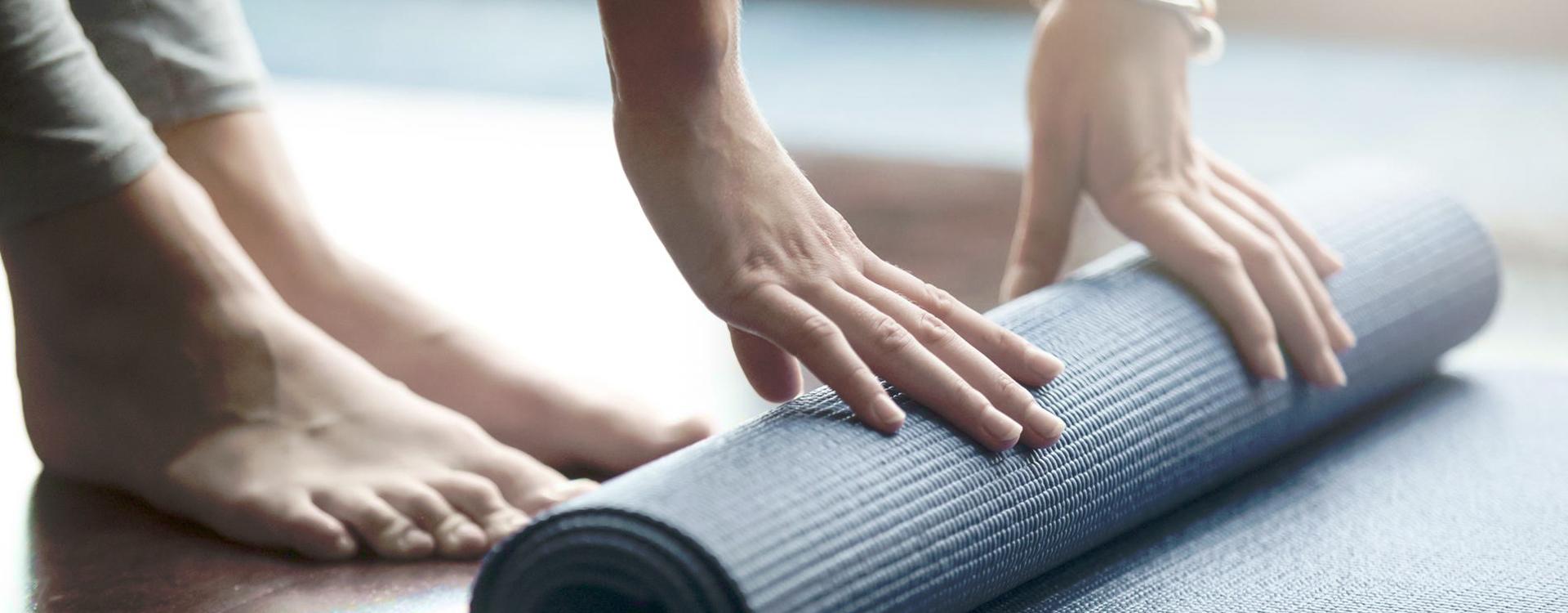 tapiz de yoga